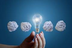 巨大企业想法的概念 图库摄影