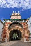 巨大修道院posad俄国sergiev 免版税库存图片