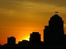 巨大国家的黎明 免版税图库摄影