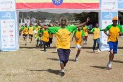 巨大埃赛俄比亚的奔跑的第13编辑 库存图片