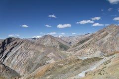巨大山景 图库摄影