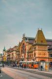 巨大市场霍尔在布达佩斯 免版税库存照片