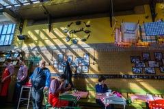 巨大市场霍尔,布达佩斯 库存照片
