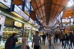 巨大市场霍尔,布达佩斯 库存图片