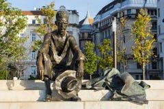 巨大市场霍尔,布达佩斯 免版税库存图片