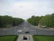 巨大星正方形,柏林,德国 库存照片