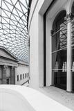 巨大法院的内部,包围阅览室在 免版税图库摄影