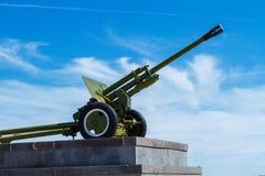 巨大爱国战争的火炮枪 库存图片