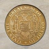 巨大爱达荷州的封印 免版税图库摄影