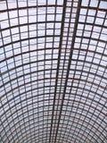 巨大玻璃屋顶 免版税库存图片