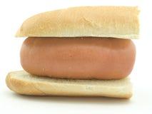 巨大的卷香肠 免版税图库摄影