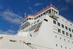 巨大的客船 免版税库存照片