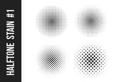 巨大的小点半音传染媒介背景 覆盖物纹理 免版税库存图片