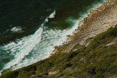 巨大的峭壁 免版税图库摄影