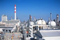 巨大的工厂 免版税库存照片