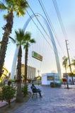 巨大的曲拱,提华纳,墨西哥 免版税图库摄影