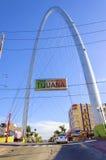巨大的曲拱,提华纳,墨西哥 库存照片