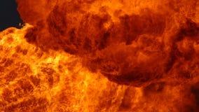 巨大的火焰 股票录像