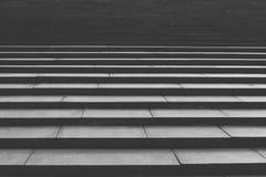 巨大的石头台阶步 免版税库存照片