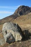 巨大的石头 库存图片