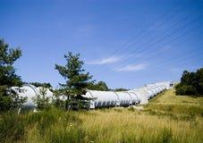巨大的管道水 免版税库存照片