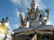 巨大的阁下shiva雕象 免版税图库摄影