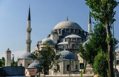 巨大的Sehzade清真寺,伊斯坦布尔,土耳其 库存图片
