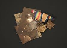 巨大经验丰富的战争 免版税图库摄影