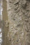 巨大背景 水泥被揉修理trotures 免版税库存照片
