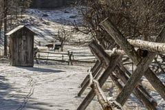 巨大蒙大拿州 图库摄影