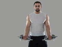 巨大锻炼 肌肉专业爱好健美者画象和 图库摄影