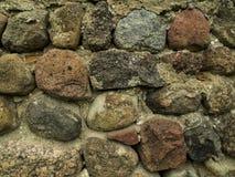 巨石城墙壁 库存照片