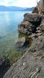 巨石城海滩 免版税库存图片