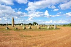 巨石碑葡萄牙xerez 库存图片