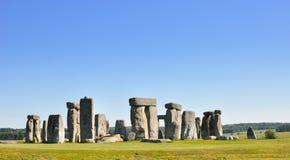巨石阵。英国遗产 免版税库存照片