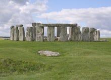 巨石阵在威尔特郡,英国 免版税库存图片