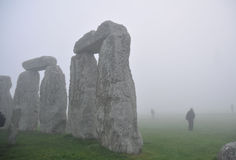 巨石阵在黎明, 库存图片