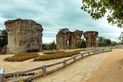 巨石阵泰国 图库摄影