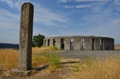 巨石阵纪念碑,华盛顿州, Goldendale,华盛顿 图库摄影