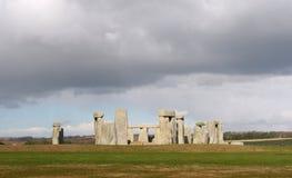 巨石阵英国英国 免版税库存照片