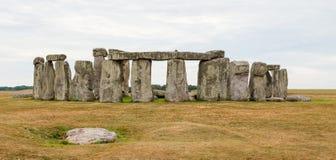 巨石阵,萨利平原,中央英国 库存图片