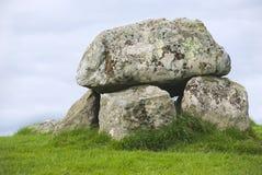 巨石carrowmore的墓地 库存图片