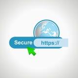 巩固象互联网 设计要素例证图象向量 免版税库存图片