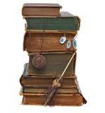 巫婆的图书馆 免版税库存图片
