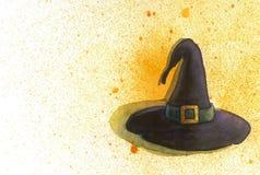 巫婆的帽子 免版税库存图片