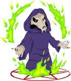 巫术师 库存例证