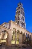 已分解的Diocletian宫殿,克罗地亚 免版税库存照片