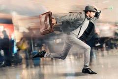 已故的旅游人 免版税图库摄影