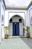 巴伊亚宫殿,马拉喀什 免版税库存照片