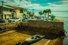 巴伊亚波尔图Seguro海滩 库存照片